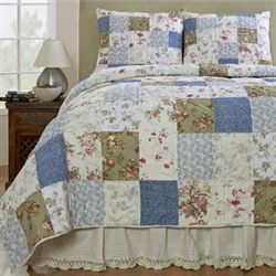 Campanille Quilt Set Ivory