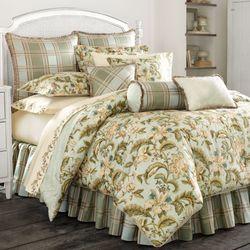 Adeline Comforter Set Aqua Mist
