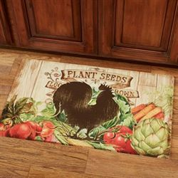 Farm Friends Rooster Comfort Mat Multi Warm 30 x 18