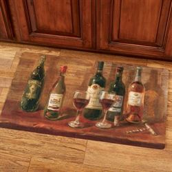 Wine Tasting Table Comfort Mat Multi Warm 30 x 18
