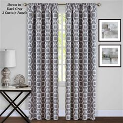 Mila Tailored Curtain Panel