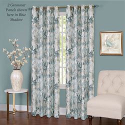 Nettie Grommet Curtain Panel