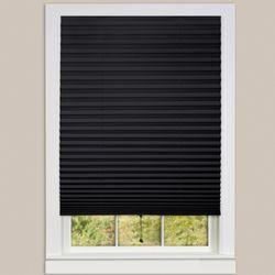 Judson Pleated Window Shade Black