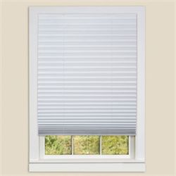 Judson Pleated Window Shade White