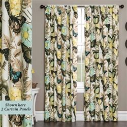 Aldora Tailored Curtain Panel Vanilla