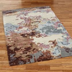 Cosmos Rectangle Rug Multi Pastel