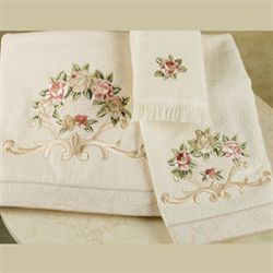 Rosefan Towel Set  Set of Three