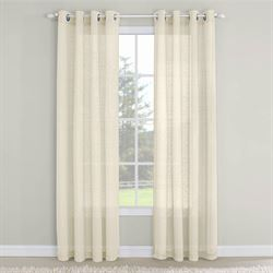 Erin Semi Sheer Grommet Curtain Panel 54 x 84