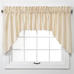 Baines 3 Piece Swag Valance Set