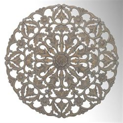 Tianna Decorative Wall Grille Gray