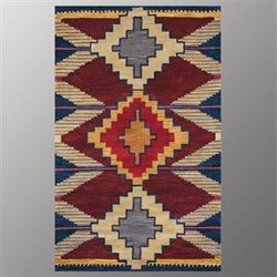 Fandango Rectangle Rug Multi Earth