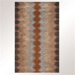 Petaluma Rectangle Rug Multi Earth