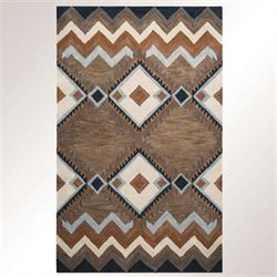 Calamity Rectangle Rug Multi Earth