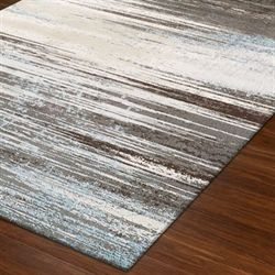 Resonance Rectangle Rug Gray