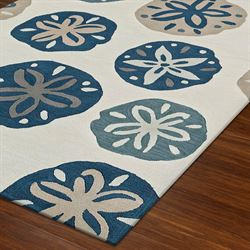 Pansy Shell Rectangle Rug