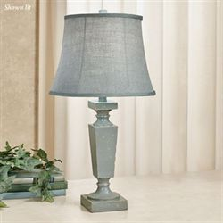 Claudine Table Lamp Pale Aqua