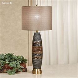 Emery Table Lamp Brushed Brass