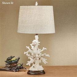 Seren Seahorse Table Lamp Natural