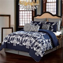Dolce Vita Comforter Bed Set Midnight