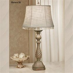 Evianna Table Lamp Dark Beige