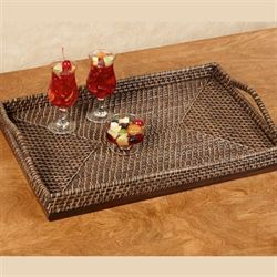 Porter Serving Tray Only Rich Mahogany