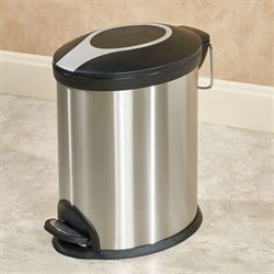 Stainless Steel Mini Step Wastebasket