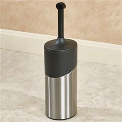 Stainless Steel Holder with Toilet Bowl Brush