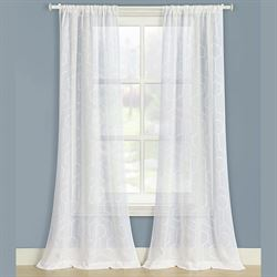 Linton Semi Sheer Curtain Pair 80 x 84