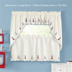 Finley Point Tailored Tier Pair Light Cream