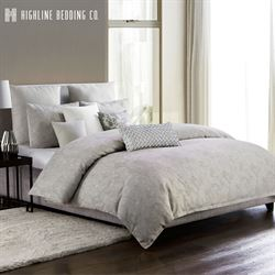 Adelais Mini Comforter Set Silver Gray
