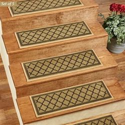 Bruges Stair Treads Olive Set of Five