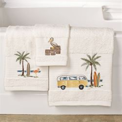 Shorething Bath Towel Set Eggshell Bath Hand Fingertip