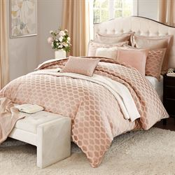 Romance Comforter Bed Set Pink