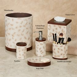 Mini Mosaic Lotion Soap Dispenser Multi Warm