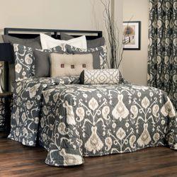 Salazar Bedspread Charcoal