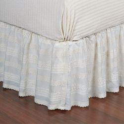 Jasmine Bedskirt Tlrd White