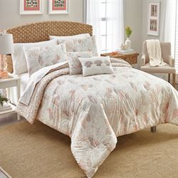 Seascape Comforter Bed Set Off White