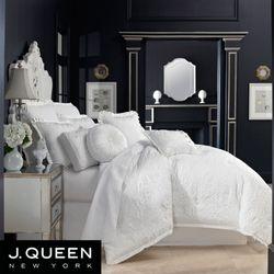 Carmella Comforter Set White