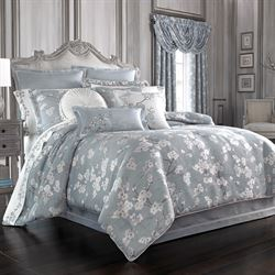 Mika Comforter Set Sterling Blue