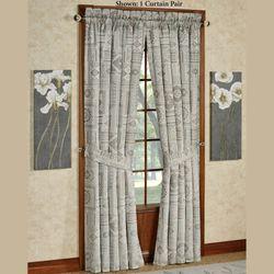 Marissa Wide Tailored Curtain Pair Aqua 100 x 84