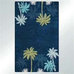 Mesmerizing Rectangle Rug Indigo