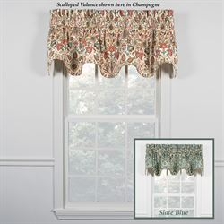 Ellia Scalloped Valance 70 x 17