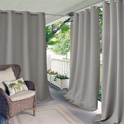 Dion Grommet Curtain Panel