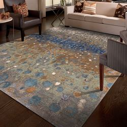 Torrent Rectangle Rug Multi Cool