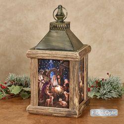The Nativity Lantern Multi Warm