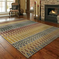 Stefania Rectangle Rug Multi Jewel