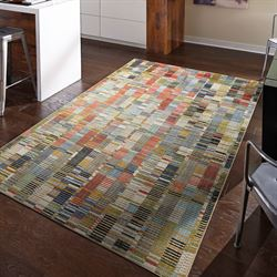 Iola Rectangle Rug Multi Jewel