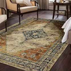 Stellan Rectangle Rug Champagne
