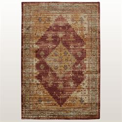 Stellan Rectangle Rug Ruby