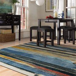 Eureka Rectangle Rug Multi Cool